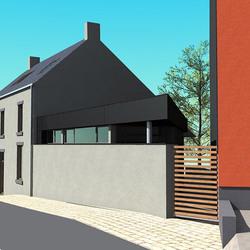 LOBBES- Extension/transformation d'une habitation