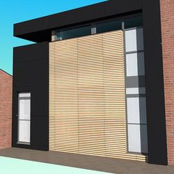 ERQURELINNES - Extension/transformation d'une habitation et d'un commerce