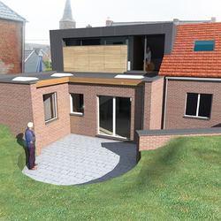 ATH - Rehausse et aménagement de l'étage d'une habitation