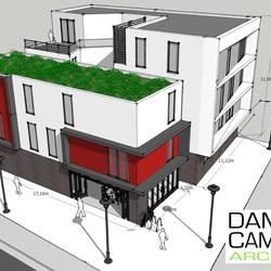 CHARLEROI - Immeuble appartements + rez commercial