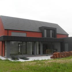 LEUZE EN HAINAUT - rénovation lourde d'une habitation (coll. DAUMERIE O.)