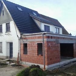 TUBIZE - Extension et transformation d'une habitation